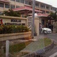 Photo taken at Sk.Miri by Bie A. on 9/11/2012