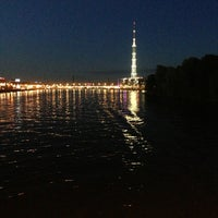 Photo taken at Ушаковский мост by ⓨⓤⓡⓐ on 6/19/2013