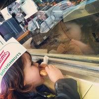 Photo taken at Krispy Kreme Doughnuts by Dena J. on 2/9/2013