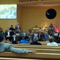 Photo taken at Iglesia Cristo Viene A/G by Stephani E. on 11/4/2012