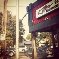 Photo taken at Killer Burger by Nicolle C. on 9/18/2012