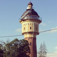 Photo taken at Widokowa Wieża Ciśnień Gołdap by Ewa on 8/8/2013