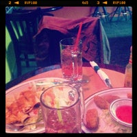 Photo taken at Rancho Viejo Sports Bar And Grill by Nicole on 9/29/2012