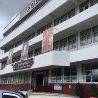 Photo taken at สถานีตำรวจภูธรทุ่งสง by Manus J. on 5/31/2017
