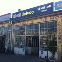 Photo taken at Şenollar Ticaret - Motor Yağı ve Yedek Parça by Serkan Ş. on 8/2/2013