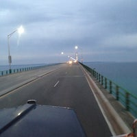 Photo taken at Straits of Mackinac by Teri A. on 11/19/2012