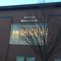 Photo taken at Wood Hill Middle School by David C. on 12/12/2012