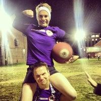 Photo taken at Stonewall Kickball by Seth K. on 11/8/2013
