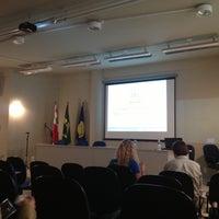 Photo taken at Auditório Da Engenharia De Produção by Lilian on 10/23/2012