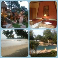 Photo taken at Coconut Beach Resort Koh Chang by Kaoaya on 2/21/2013
