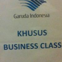 Photo taken at Garuda Indonesia Executive Lounge by Has N. on 3/1/2013