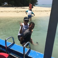 Photo taken at Pulau Pramuka by kristianto u. on 3/27/2017