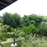 Photo taken at Pousada Vila Tamarindo Eco Lodge by Caio Cesar P. on 12/13/2012