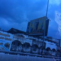 Photo taken at Srinagarindra-Lasalle Intersection by Tading D. on 10/14/2016