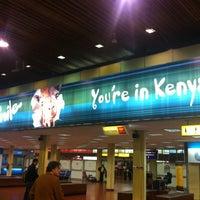 Photo taken at Jomo Kenyatta International Airport (NBO) by Yonce K. on 12/22/2012