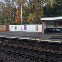 Photo taken at Wivenhoe Railway Station (WIV) by Londowl on 11/26/2016