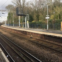 Photo taken at Wivenhoe Railway Station (WIV) by Londowl on 3/1/2017