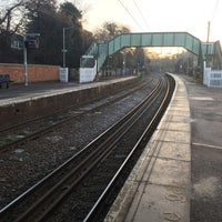 Photo taken at Wivenhoe Railway Station (WIV) by Londowl on 1/21/2017