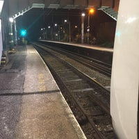 Photo taken at Wivenhoe Railway Station (WIV) by Londowl on 1/20/2017