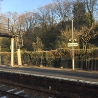 Photo taken at Wivenhoe Railway Station (WIV) by Londowl on 1/18/2017