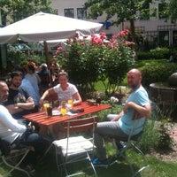 Photo taken at Bistro Pfundig by Bastian B. on 7/8/2013