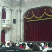 Photo taken at Teatro Morelos by Ximena L. on 11/9/2013