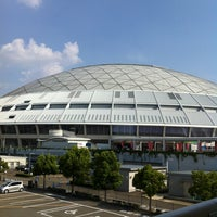 Photo taken at Nagoya Dome by Super W. on 7/28/2013