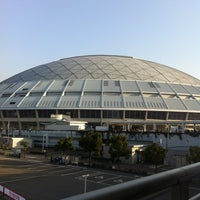 Photo taken at Nagoya Dome by Super W. on 3/22/2013