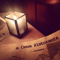 Photo taken at a Cena Ristorante by Sonam on 3/24/2014