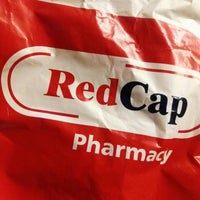 Photo taken at Red Cap Pharmacy by Fadz R. on 12/24/2016