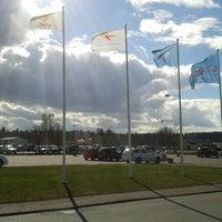 Photo taken at Norrköping Airport (NRK) by Gaui B. on 3/23/2014