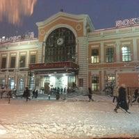 Photo taken at Savyolovsky Rail Terminal by Иван В. on 3/15/2013