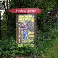 Photo taken at Hochseilgarten by fritz b. on 6/27/2013