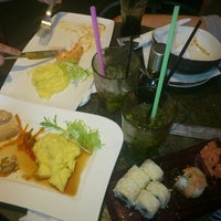 Photo taken at Silk Sushi Bar by Kristine A. on 8/20/2013