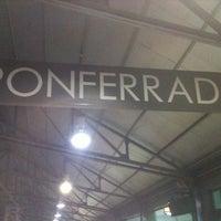 Photo taken at Estación Autobuses de Ponferrada by Antonio on 12/7/2012
