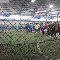 Photo taken at Grand Futsal Kuningan by Fahmi z. on 11/3/2012