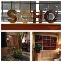 Photo taken at Soho Hotel by Katy P. on 7/25/2013