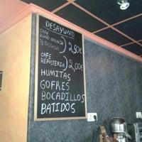 Photo taken at cafe bar la ronda by Richard G. on 9/21/2012
