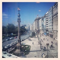Photo taken at Obelisco by Francisco T. on 5/13/2013