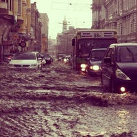 Photo taken at Вулиця Сумська / Sumska Street by Artem on 5/29/2013