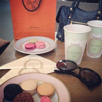 Photo taken at Ladurée by Rody I. on 6/4/2013