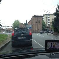 Photo taken at Porta Mascarella by Olga on 4/22/2014
