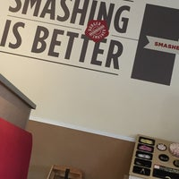 Photo taken at Smashburger by Ahmed A. on 12/14/2016