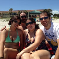 Photo taken at la playa 🏊🌅 by Rochelle on 4/13/2014