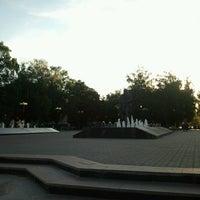 Photo taken at Памятник Л.Н. Толстому by Lutcher on 6/20/2013