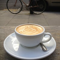 Photo taken at Wild & Wood Coffee by Georgie on 9/22/2012