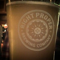 Photo prise au Right Proper Brewing Company par Ben R. le12/11/2013