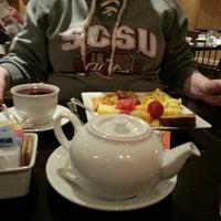 Photo taken at M ST. Café by Karin L. on 3/29/2014