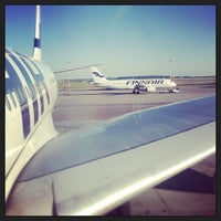 Photo taken at Helsinki Airport  (HEL) by Syed Rehman Shah B. on 6/21/2013