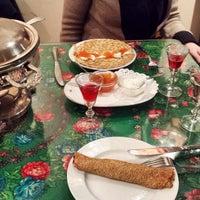Photo taken at Cafe St. Petersburg by Tara S. on 12/20/2014